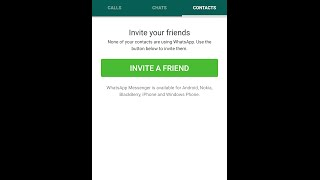 Whats app me invite a friend option ko kaise hatayen | whatsaap me contacts kaise show karen