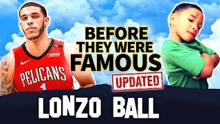 Lonzo Ball | Before They Were Famous | BIOGRAPHY | Zion Williamson & Lonzo Ball DUO