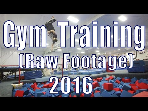 Gym Training 2016 (Raw Footage)