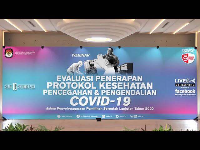 (Webinar) Evaluasi Penerapan Protokol Kesehatan Pencegahan dan Pengendalian COVID-19