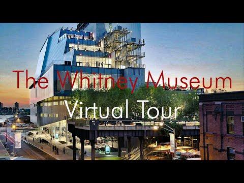 New Whitney Museum of American Art VirtualTour New York City 2015