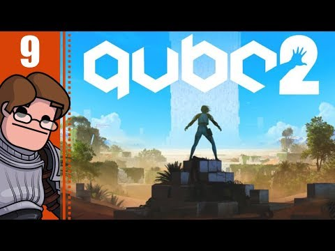 Let's Play Q.U.B.E. 2 Part 9 - Uncomfortable Truths