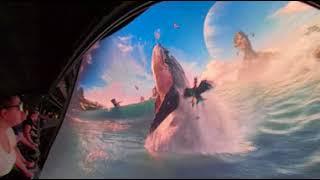 [360° 4K VR POV] Avatar Flight of Passage - Bottom Row - Animal Kingdom