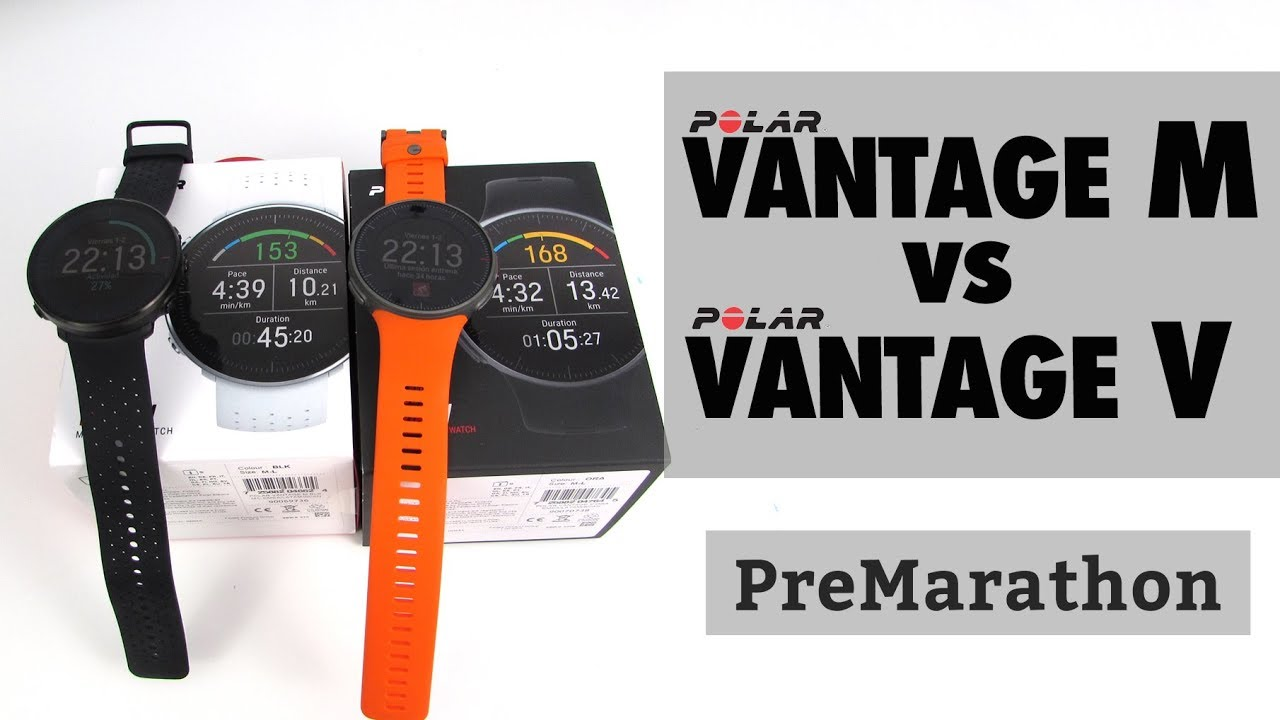 4e8bd7e7d Polar Vantage V vs Vantage M: comparativa detallada. - YouTube