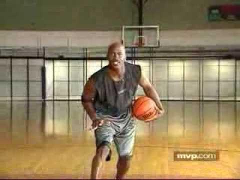 04. Offense - Michael Jordan Basketball Training - Driving Off The Fake