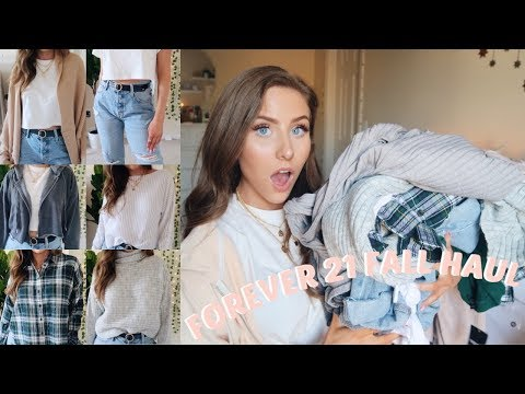 FOREVER 21 FALL TRY ON HAUL   AFFORDABLE CLOTHES!