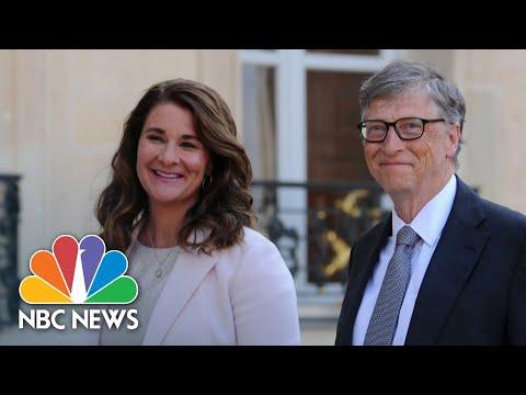 Bill And Melinda Gates Announce Divorce | NBC Nightly News