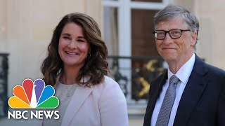 Bill And Melinda Gates Announce Divorce | NBC Nightly News