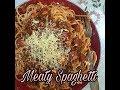 Meaty Filipino Spaghetti