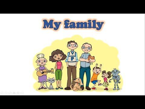 Моя семья на английском языке.
