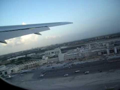 Décollage Miami Airport