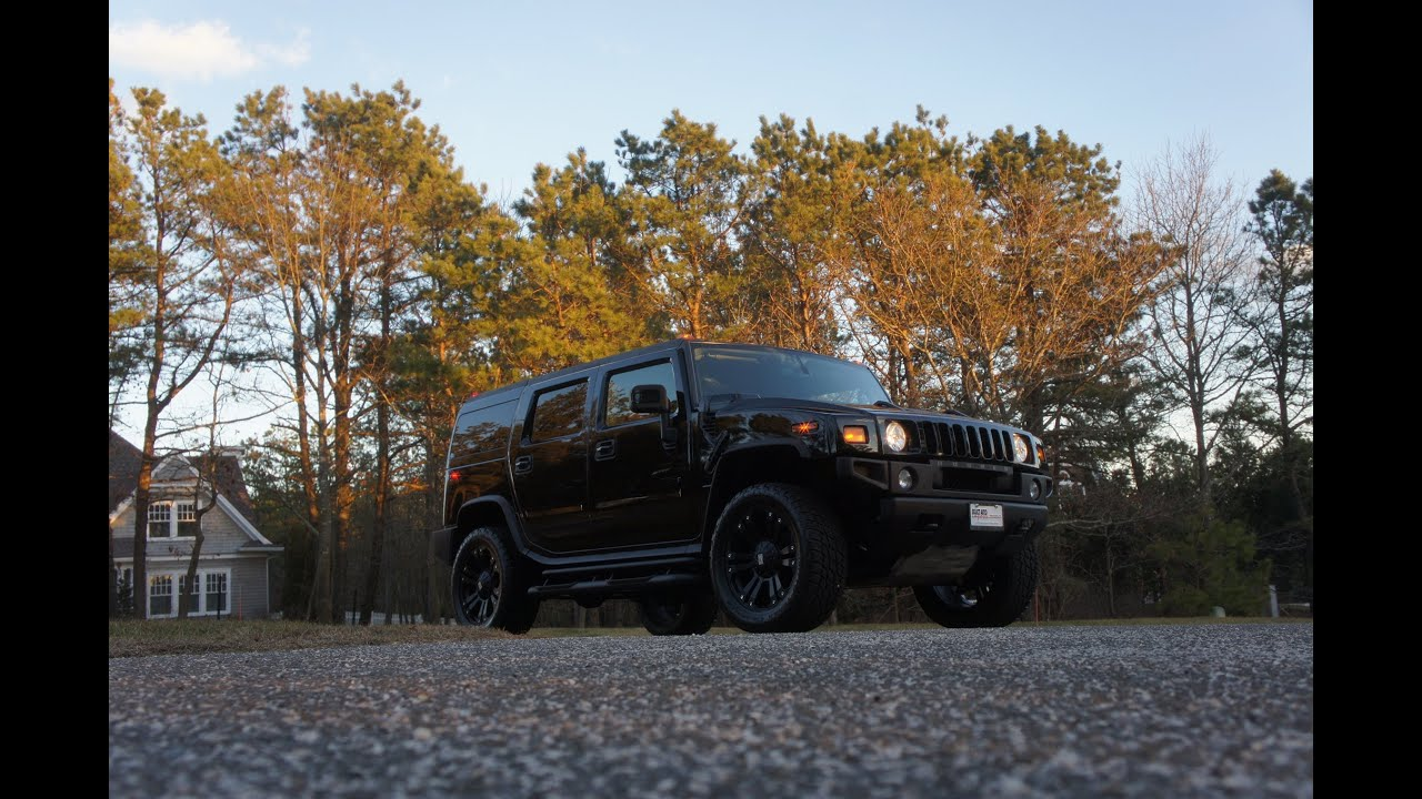 "2008 Hummer H2 For Sale Moon Roof 22"" XD Series Rims Nitto Tires"