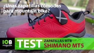 Zapatillas Shimano MT5 - Unas zapatillas de mountain bike cómodas