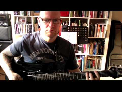 How To Play Sickness by Obituary Guitar Lesson
