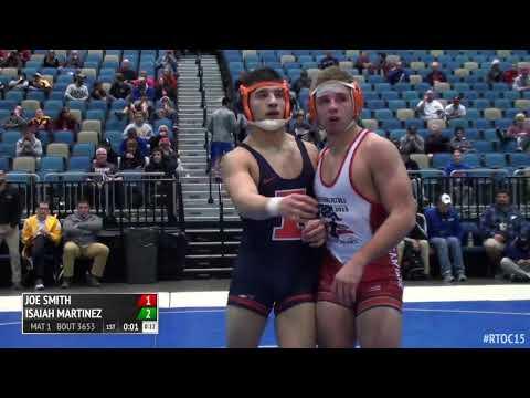 Isaiah Martinez Illinois vs Joe Smith Oklahoma State -  Reno TOC