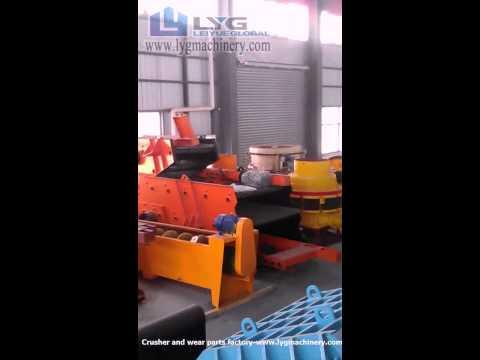 Stone crusher/quarry breaker/mining equipment factory from Shanghai-LYG