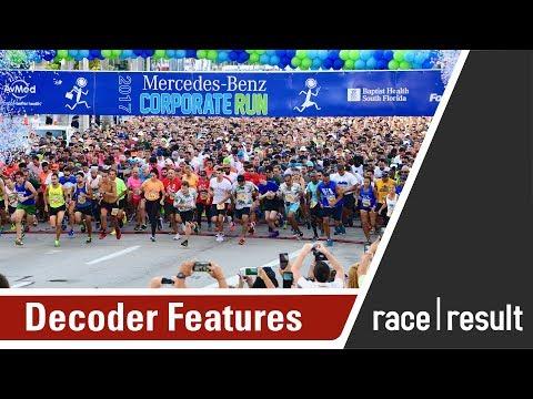race|result Webinar - Decoder Features