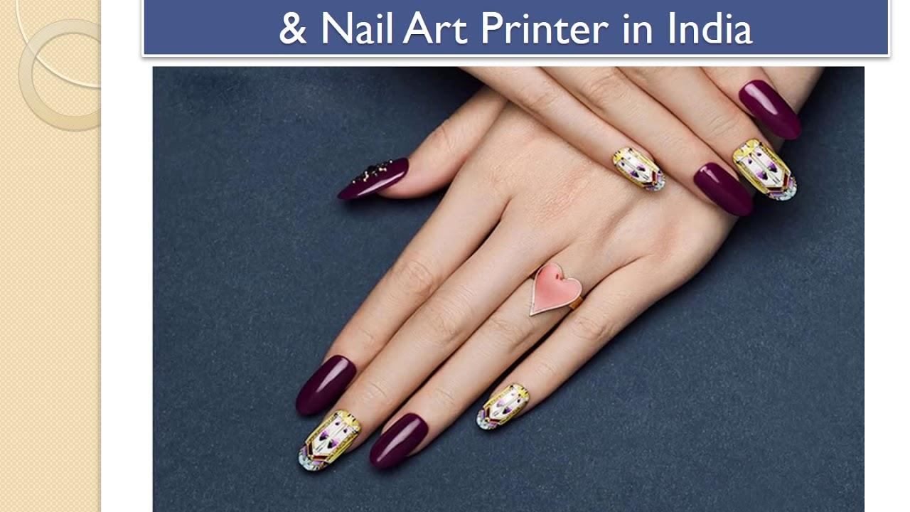 O2nails India Glamorous 3d Nail Art Nail Art Printer In India