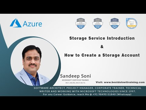 Microsoft Azure | What Is Azure Storage? | How To Create A Storage Account | Azure Training