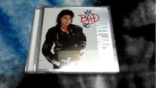 Michael Jackson Bad 25 Target Exclusive CD Unboxing