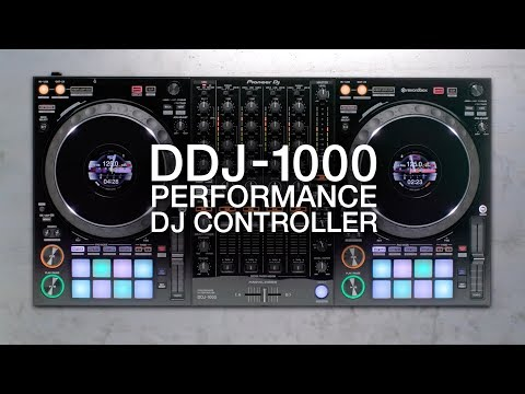 Pioneer DJ DDJ-1000 Official Introduction with Deejay Irie