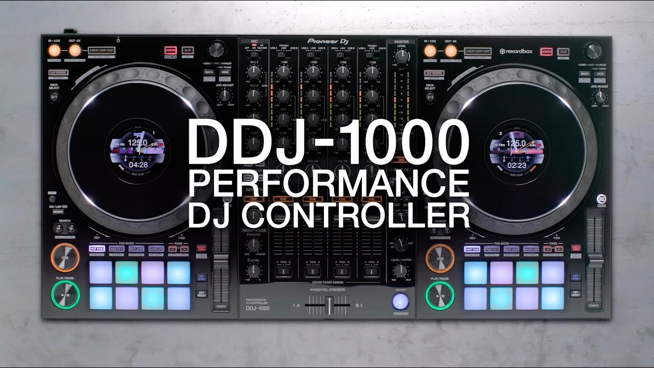 6783ff5c94b Pioneer DJ DDJ-1000 Official Introduction with Deejay Irie - YouTube