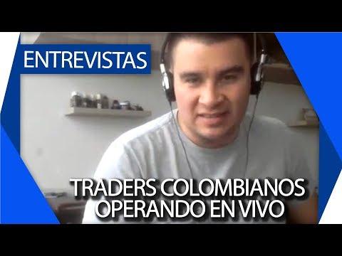 Traders Colombianos operando en vivo