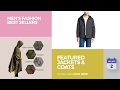 Featured Jackets & Coats Men's Fashion Best Sellers