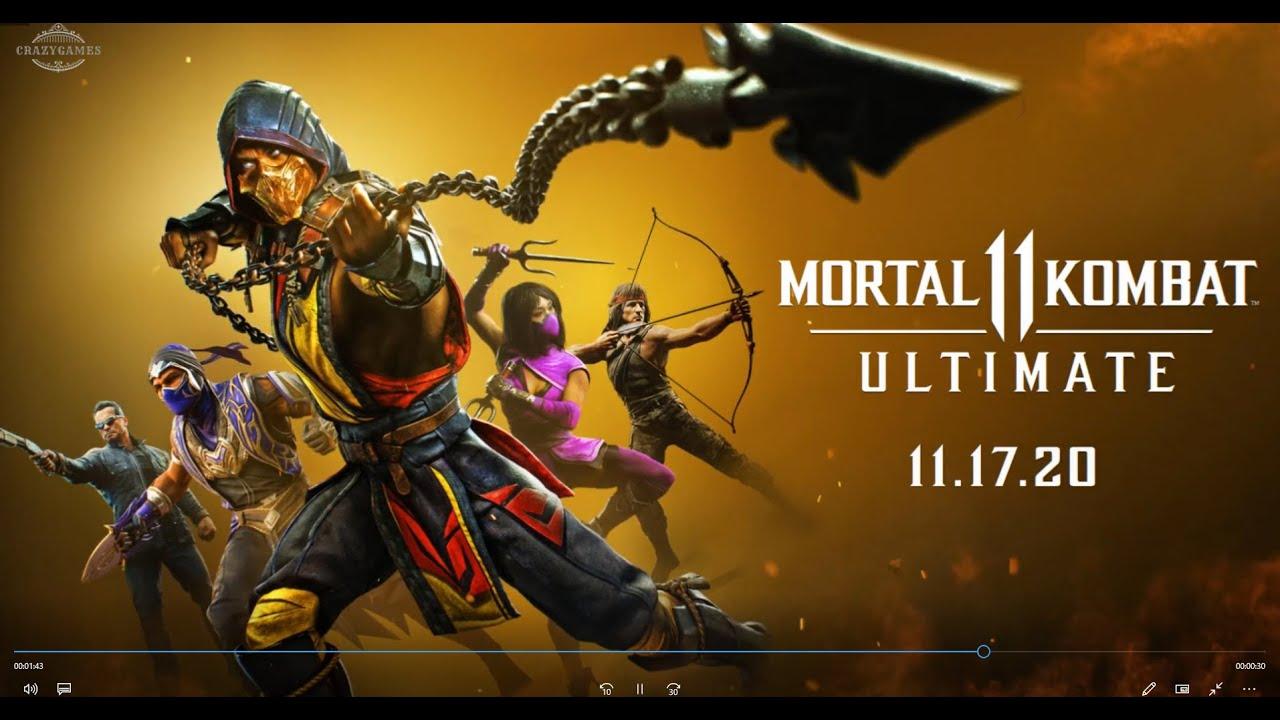 Download Mortal Kombat 11 Ultimate   Kombat Pack 2 and Reveal Trailer ¦ PS4, PS5