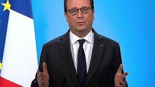 الرئيس الفرنسي فرانسوا هولاند يقول إنه لن يترشح للانتخابات الرئاسية المقبلة