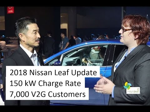 Interview with Hiroshi - Lead Engineer for Nissan Leaf
