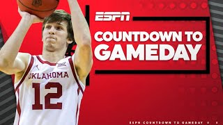 Hanging with Oklahoma's Austin Reaves and College Hoops Top Shot | Countdown to GameDay