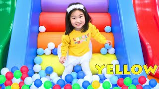 بولام يلعب في مركز الاستكشاف !!!!! boram play at for kids center