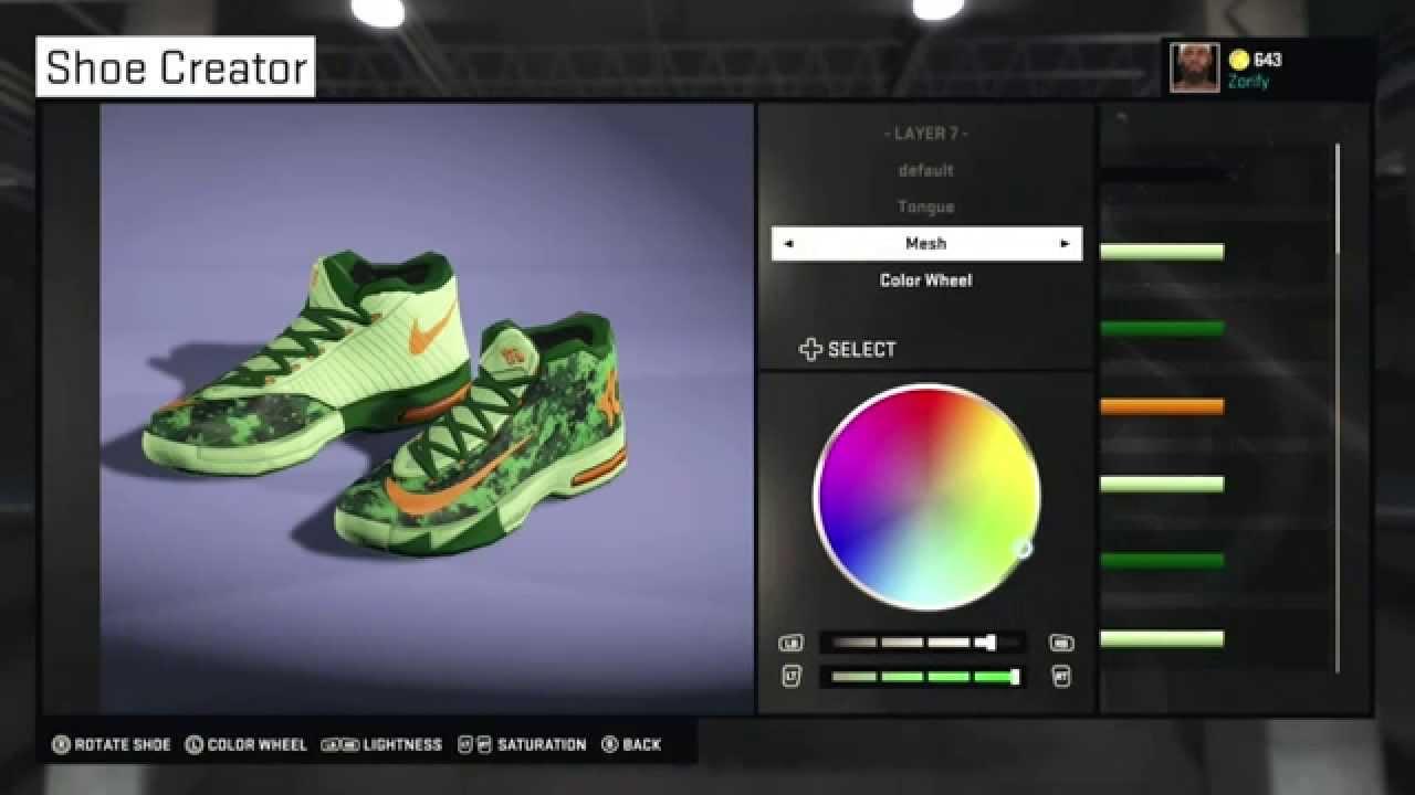 679d0f817a7b NBA 2K15 Shoe Creator - Nike KD 6