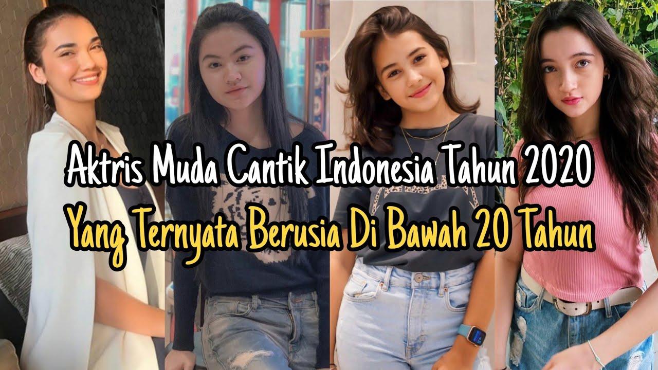 Deretan Aktris Muda Cantik Indonesia Tahun 2020‼️ Yang Ternyata Berusia Di Bawah 20 Tahun‼️