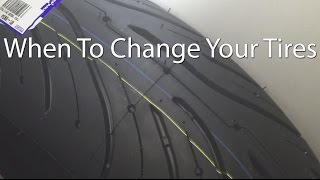 New Rider Info When To Change Your Motorcycle Tires