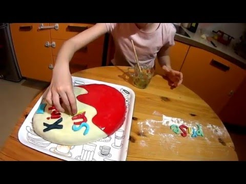 Торт Киндер Сюрприз. Kinder Surprise Egg Cake