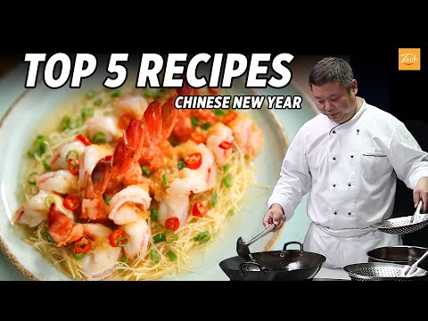 Top 5 Masterchef Recipes for Chinese New Year | Cooking Chinese Food • Taste Show
