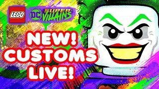 LEGO DC Supervillains Customs Live! Making Epic LEGO Designs   Blitzwinger
