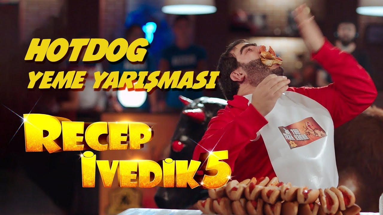Hotdog Yeme Yarışması   Recep İvedik 5