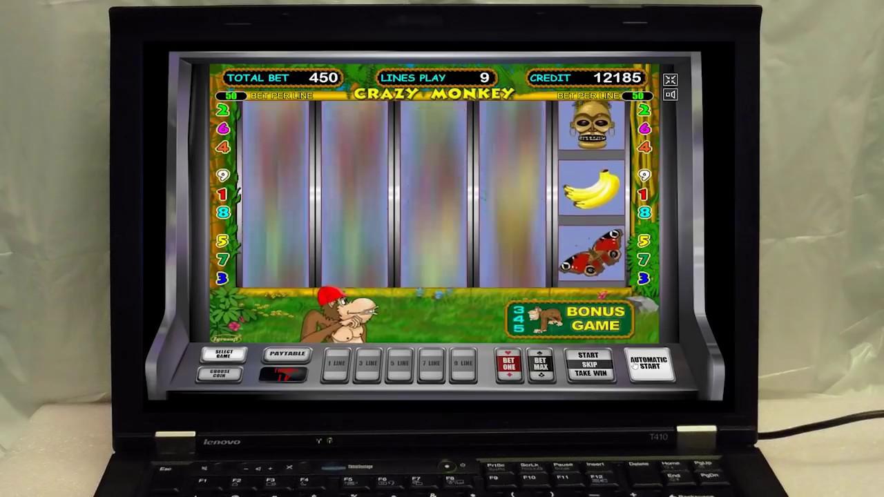 Интернет Казино Вулкан Онлайн | Игровой Автомат Crazy Monkey Дал Выигрыш в Казино