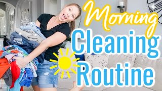 MY DAILY CLEANING ROUTINE | CLEAN WITH ME 2019 | FALL MORNING CLEANING ROUTINE