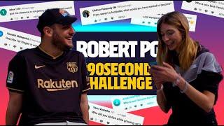 FAVOURITE YOUTUBER HAIRSTYLE? | ROBERT PG #90secondschallenge