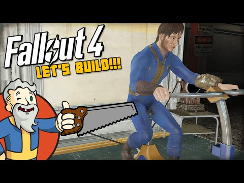 """""""THE VAULT-TEC WORKSHOP UPDATE IS HERE!!!"""" MODDED Fallout 4 LET'S BUILD - 1440p HD PC Gameplay"""
