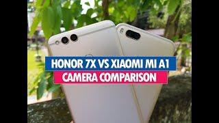 Honor 7X vs Xiaomi Mi A1 Camera Comparison, Which has better Camera?