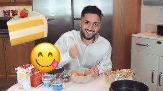 Suleyman testar bakning (för Musikhjälpen)