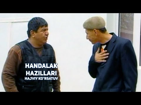 Handalak - Hazillari | Хандалак - Хазиллари (hajviy ko'rsatuv)