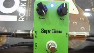 CALINE SUPER CHORUS GUITAR EFFECT PEDAL