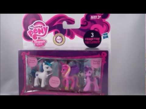 My Little Pony Friendship Is Magic Mini Figure Set Wedding You
