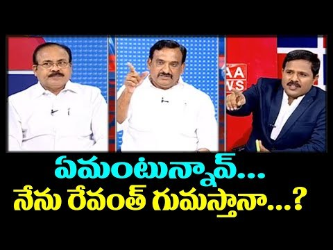 TRS Vs TDP : Argument in Live Show Debate | #PrimeTimeDebate
